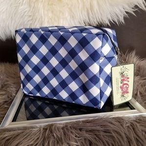 Handbags - Sale!!! Blue fashion makeup bag